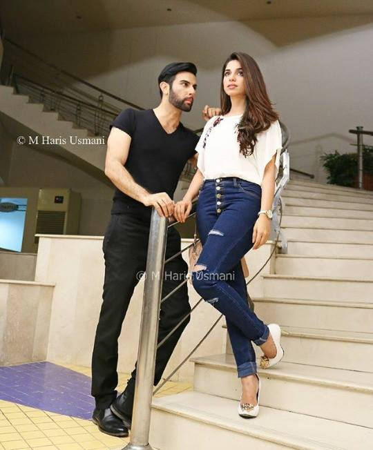 See Latest Photoshoot of Sonya Hussain and Noor Hassan for Kisay Chahun