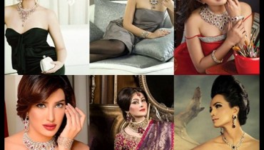 See Pakistani Celebrities endorsing Afzal Jewelers