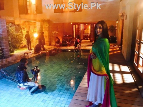 See Pictures from set of Drama serial Mann Mayal