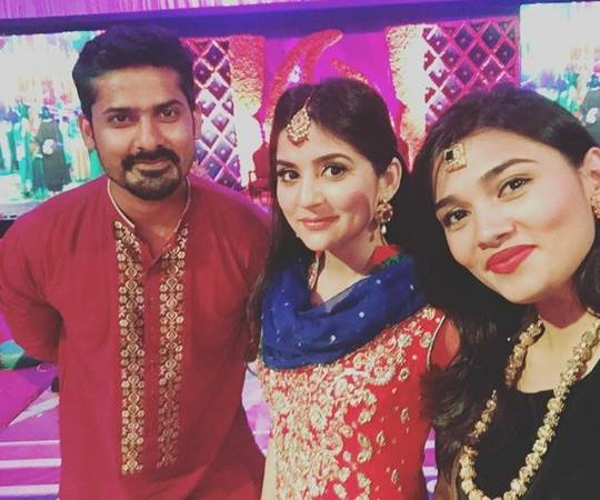 Sanam Baloch at her Brother's Mehndi (4)