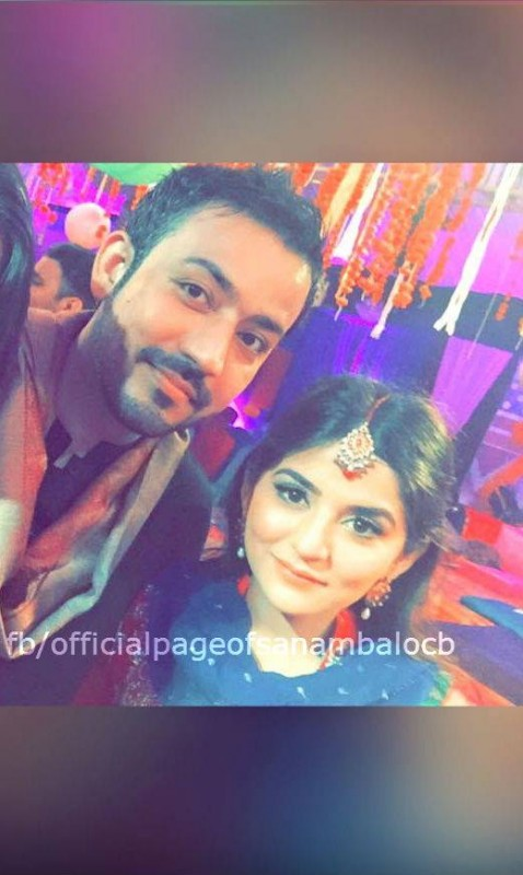 Sanam Baloch at her Brother's Mehndi (6)