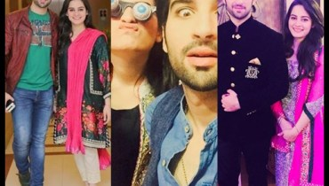 See Top 10 pictures of adorable couple Aiman Khan and Muneeb Butt