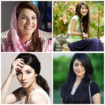 Top 5 Beautiful And Talented Pakistani Female Celebrities Of 2015