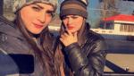 actress Aiman and Minal Khan