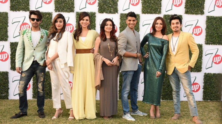 celebrities at 7up event