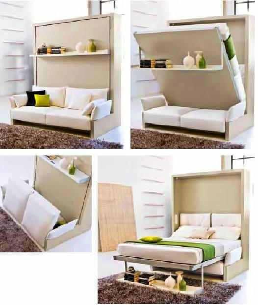 Convertible Furniture Ideas for Small Space. super
