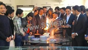 See Fiza Ali celebrating her birthday