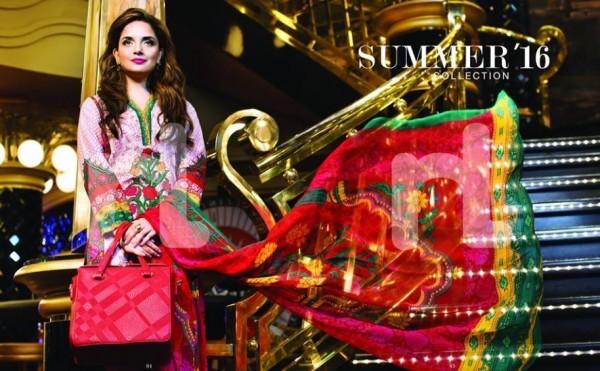 Latest clicks of Armeena Rana Khan for Nishat Linen (2)