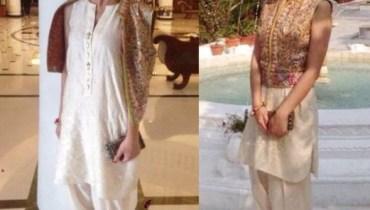 Maira Khan in Shalwar Kameez
