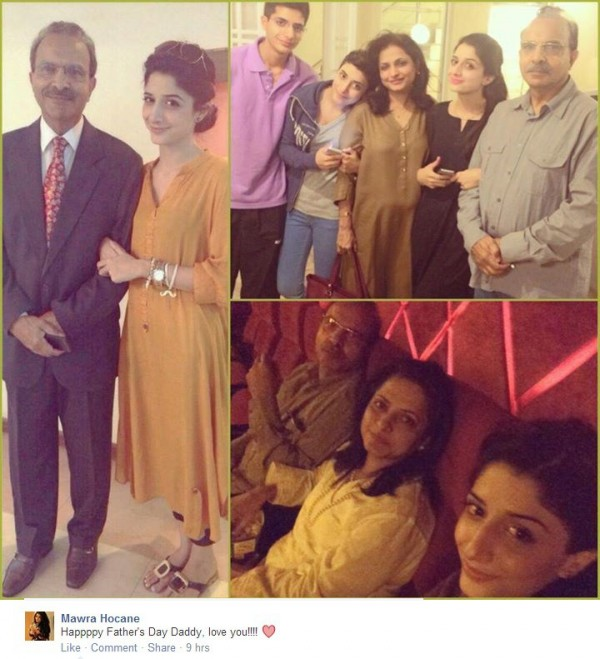 Mawra hocane father
