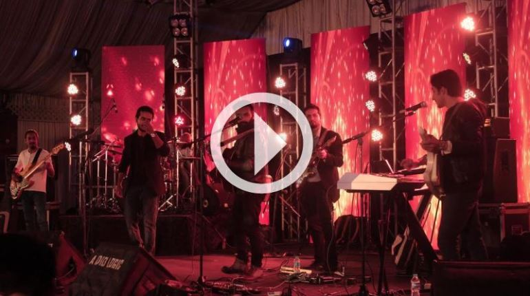 Pakistan's first 360 Degree live performance music video