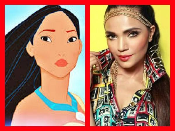 Pakistani Celebrities Who Look Like a Disney Princesses. amina