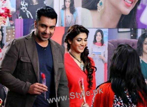 Pakistani Celebrities celebrating Valentines day (5)