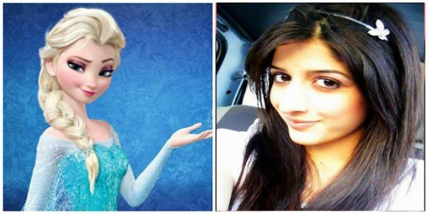 Pakistani Celebrities who look like a Disney Princesses