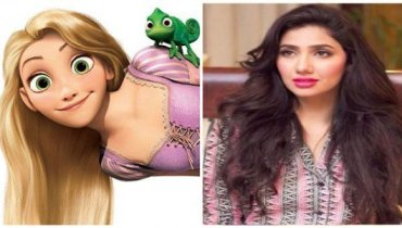Pakistani Celebrities Who Look Like a Disney Princess