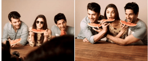 Photoshoot of Fawad Khan for kapoor and sons Poster.4