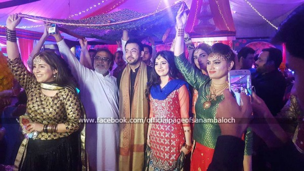 Sanam Baloch at her Brother's Wedding (11)