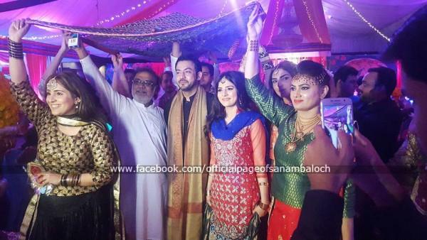 Sanam Baloch at her Brother's Wedding (11)