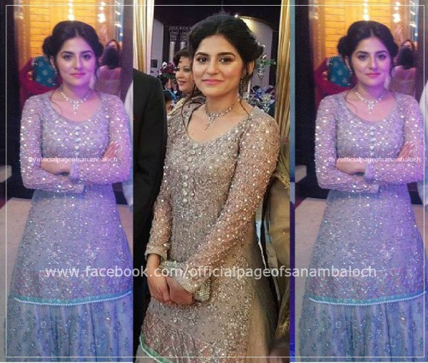 Sanam Baloch at her Brother's Wedding (5)