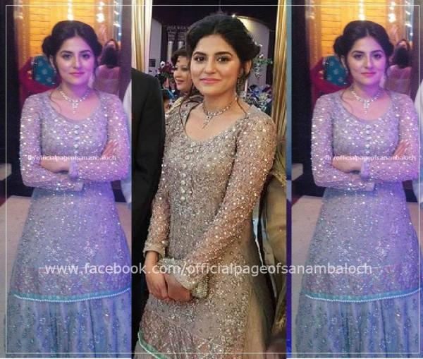 Sanam Baloch at her Brother's Wedding (5)