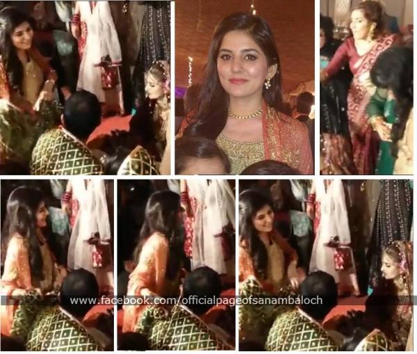 Sanam Baloch at her Brother's Wedding (7)