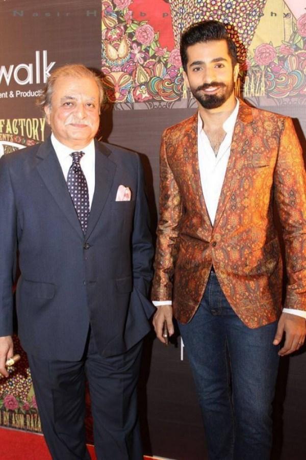 Sheheryar Munawar father