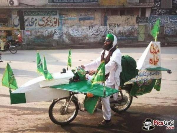 funny motorbike