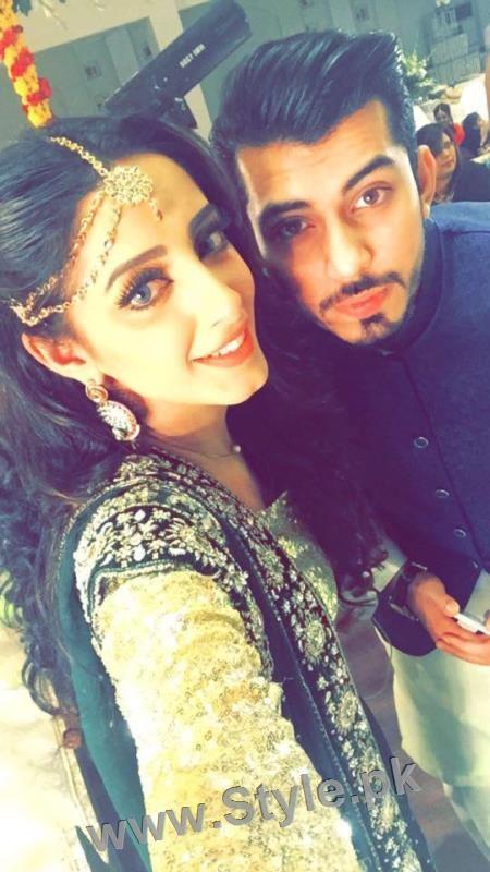 Celebrities at Actor Wahaj Ali's Mehndi (4)