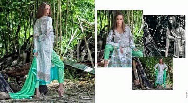 Lala Textiles Vintage Lawn Dresses 2016 For Women0013
