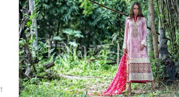 Lala Textiles Vintage Lawn Dresses 2016 For Women7
