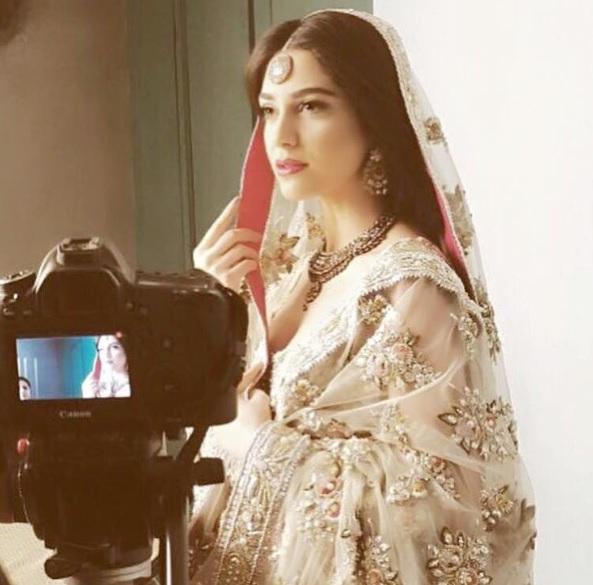 Maya Ali's Photoshoot for a salon (3)
