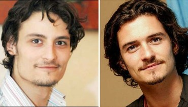 Osman Khalid and OrlandoBloom