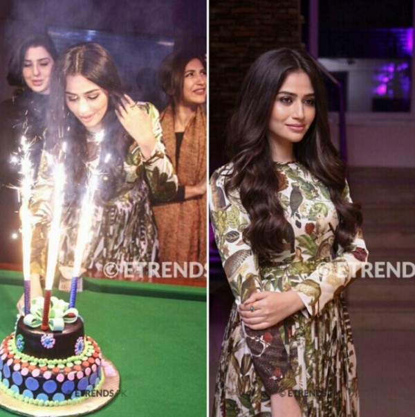 actress Sana javed birthday pictures