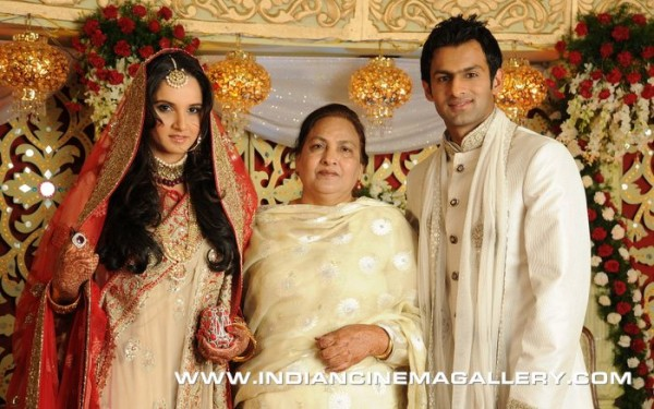 Shoaib Malik and Sania Mirza wedding