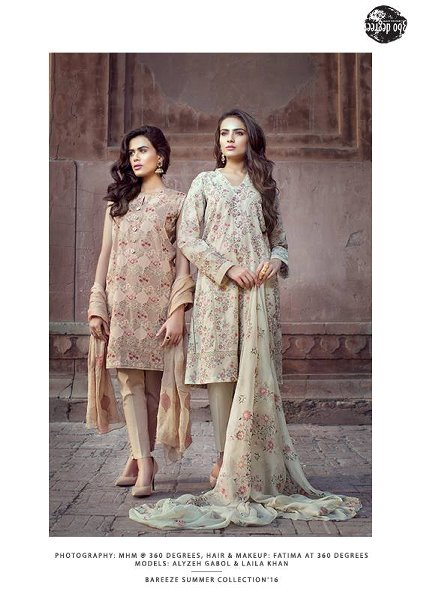 Bareeze Summer Dresses 2016 For Women0010