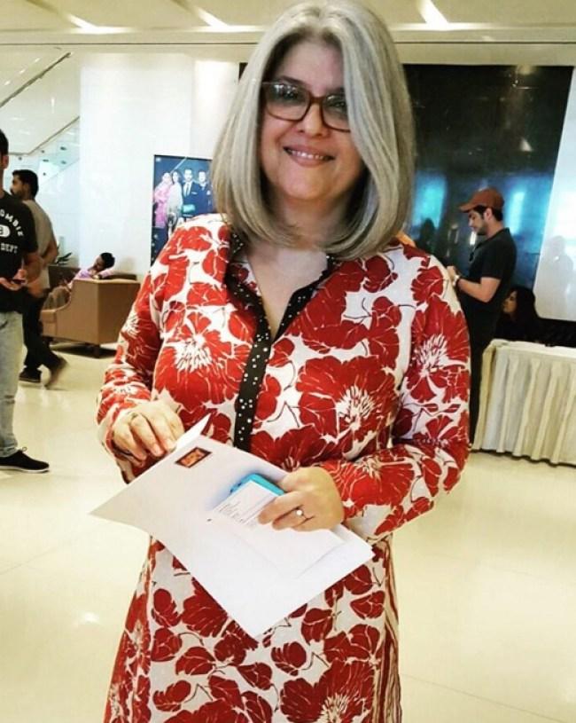 Marina Khan at ARY Film Awards 2016