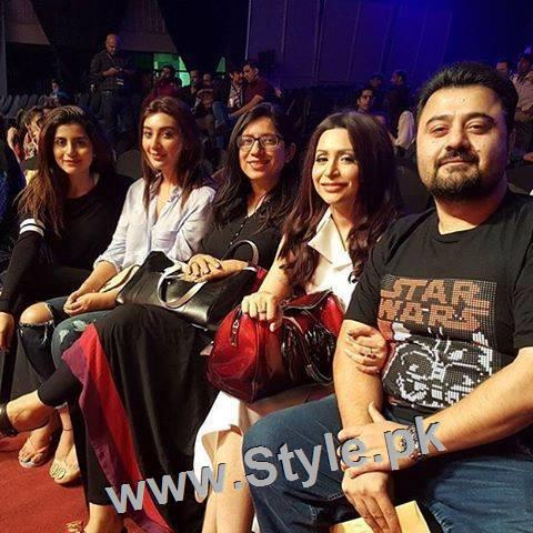 Pakistani Celebrities at rehearsals of 4th HUM Awards 2016 in Dubai (3)