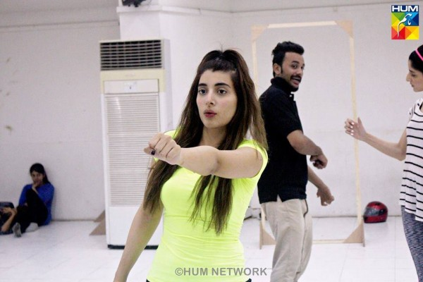 Pakistani Celebrities during rehearsals of 4th HUM Awards 2016 (12)