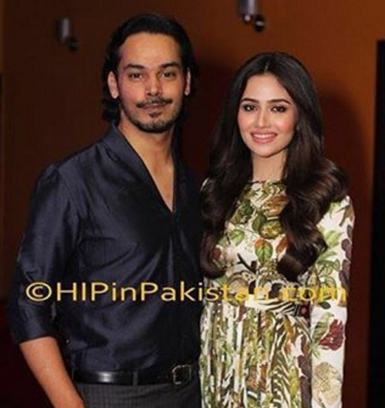 Sana Javed and Gohar Rashed
