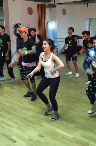 Sohai Ali Abro during rehearsals of Ary Film Awards 2016 in Dubai (2)