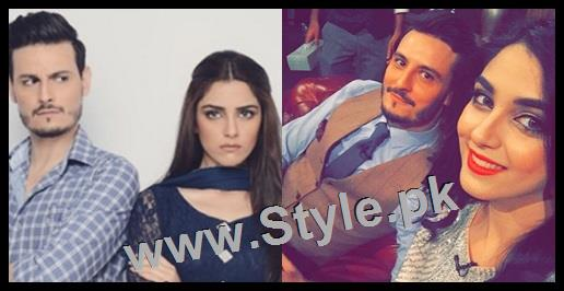See Top 10 Pictures of on screen couple Maya Ali and Osman Khalid Butt