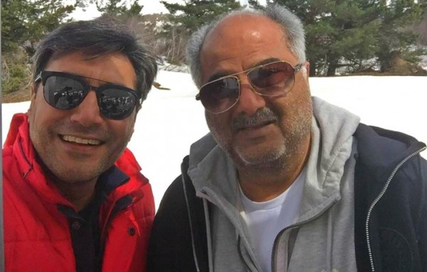 Adnan Siddiqui and Boney Kapoor