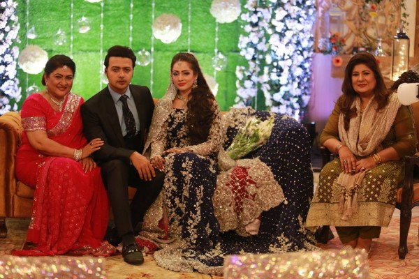 Ahmed Hassan and Nousheen Ibrahim' Reception pictures (9)