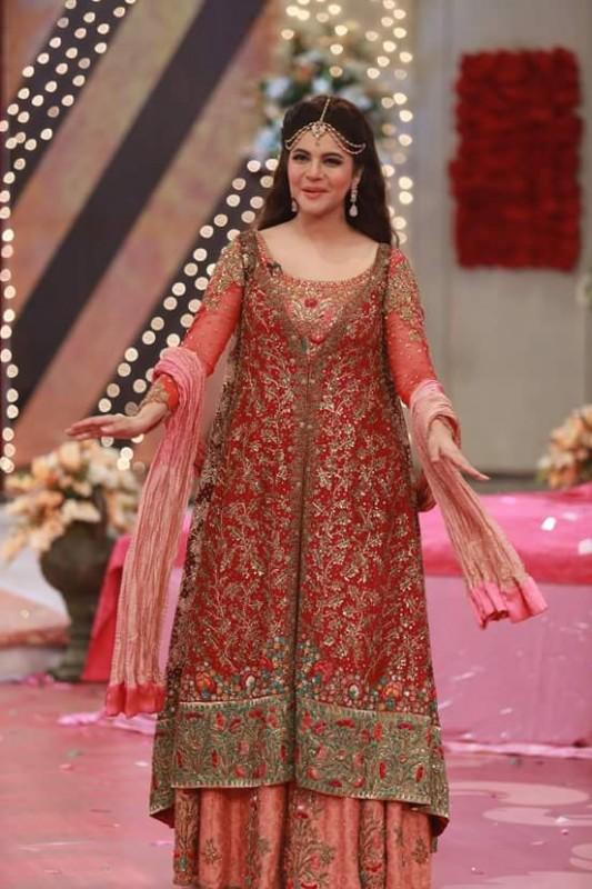Ahmed Hassan and Nousheen Ibrahim's Grand Wedding in Good Morning Pakistan (6)