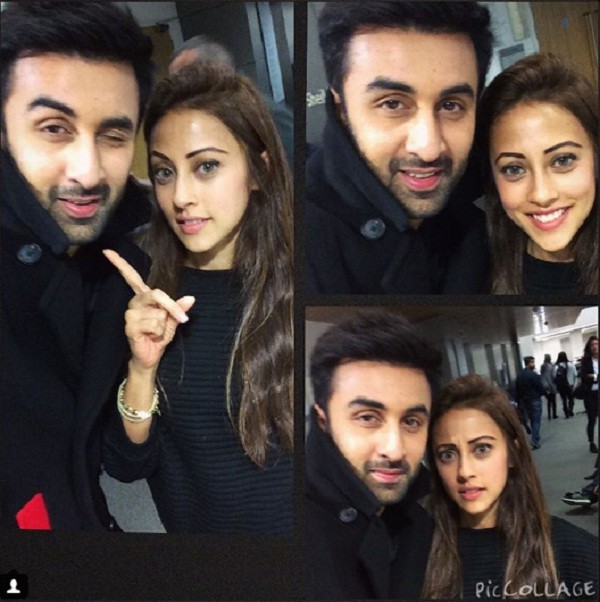 Ainy Jafferi with Ranbir Kapoor