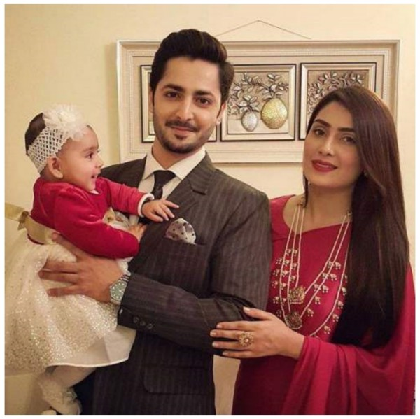 Danish Taimoor Ayeza khan daughter