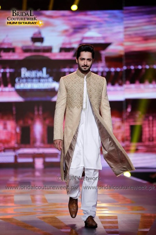 Danish Taimoor at Bridal Couture Week