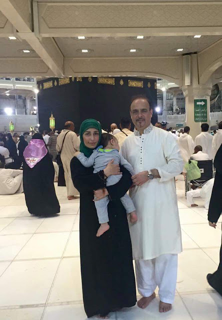See Film Star Reema performed Umrah
