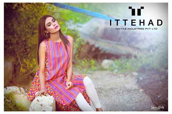 Ittehad Textiles Summer Dresses 2016 Volume II For Women