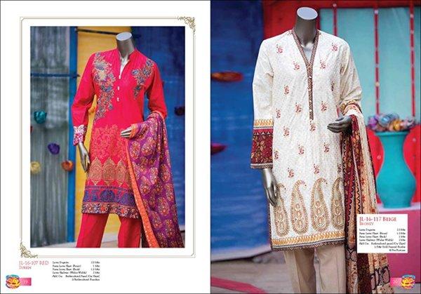 Junaid Jamshed Eid dresses 2016 For Women009